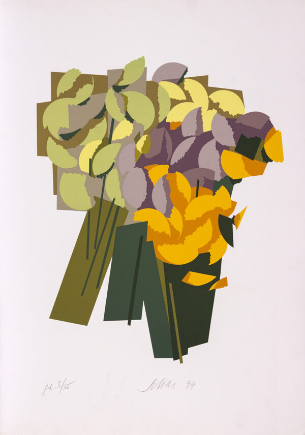 053 - Carlos Scliar - 50x70cm - Serigrafia - Ano 1999 - Tiragem 100 (4)