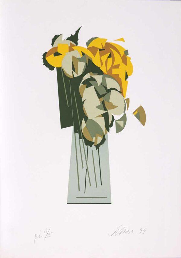 055 - Carlos Scliar - 50x70cm - Serigrafia - Ano 1999 - Tiragem 100 (3)