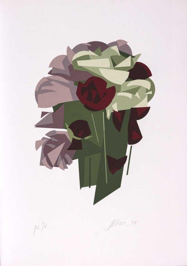 059 - Carlos Scliar - 50x70cm - Serigrafia - Ano 1999 - Tiragem 100 (10)