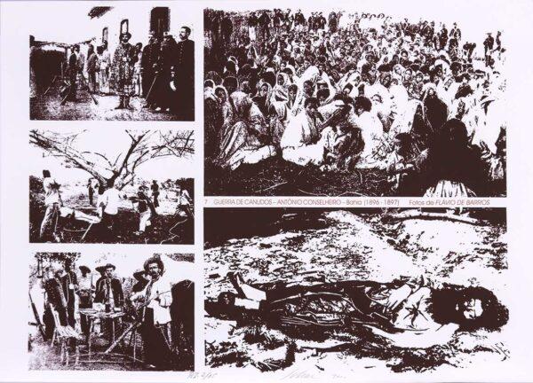 065 - Carlos Scliar - 50x70cm - Redescobertas do Brasil - Serigrafia - Ano 2000 - Tiragem 150 (7)