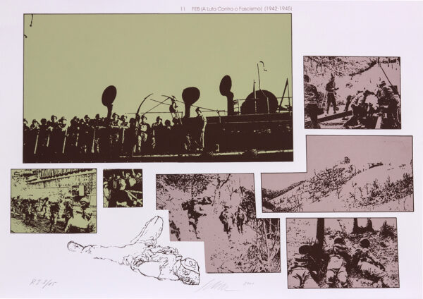 069 - Carlos Scliar - 50x70cm - Redescobertas do Brasil - Serigrafia - Ano 2000 - Tiragem 150 (11)