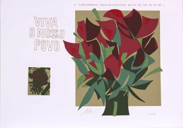 074 - Carlos Scliar - 50x70cm - Redescobertas do Brasil - Serigrafia - Ano 2000 - Tiragem 150 (16)