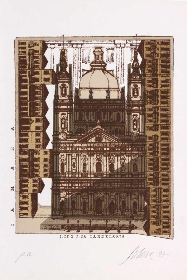 083 - Carlos Scliar - 48x33cm - Serigrafia - Ano 1997 - Tiragem 100 (2)