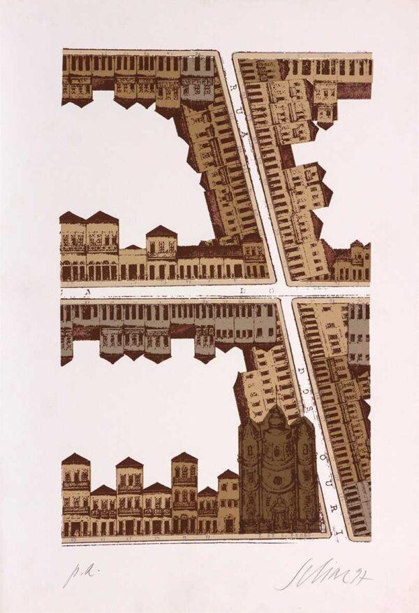 086 - Carlos Scliar - 48x33cm - Serigrafia - Ano 1997 - Tiragem 100 (8)