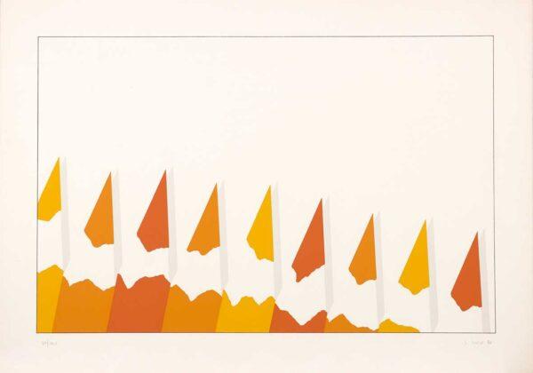 152 - Edmundo Colaso - 50x70 - Serigrafia - Ano 1984 - tiragem 100 (1)