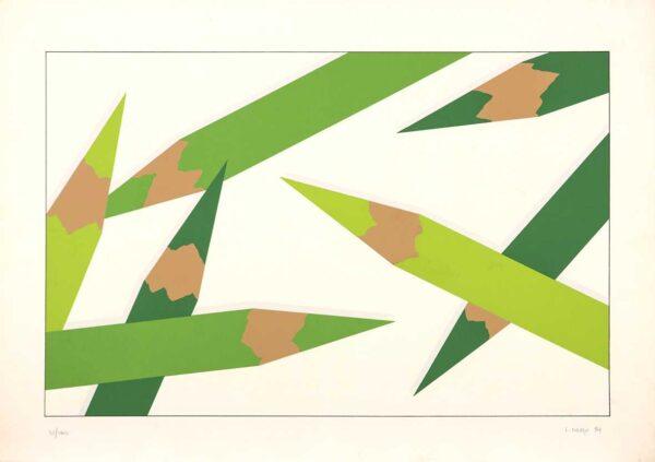 153 - Edmundo Colaso - 50x70 - Serigrafia - Ano 1984 - tiragem 100 (2)