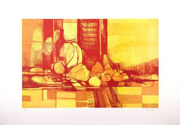 159 - Bianco - 48x66cm - Litografia - Tiragem 100 (2)