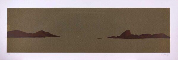 179 - Guilherme Sechin - 33x97cm - Serigrafia