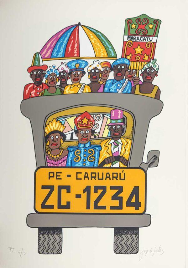 203 - Jorge Salles - Serigrafia - 50x70cm - ano 1985 - Tiragem 100 (21)