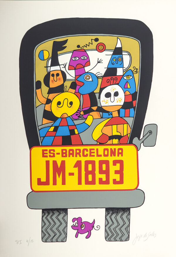 204 - Jorge Salles - Serigrafia - 50x70cm - ano 1985 - Tiragem 100 (23)