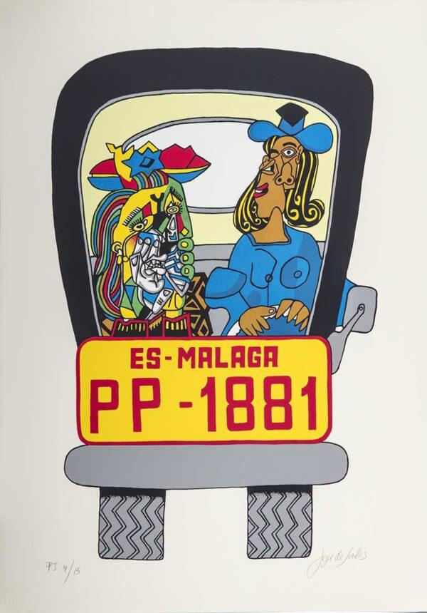 205 - Jorge Salles - Serigrafia - 50x70cm - ano 1985 - Tiragem 100 (12)
