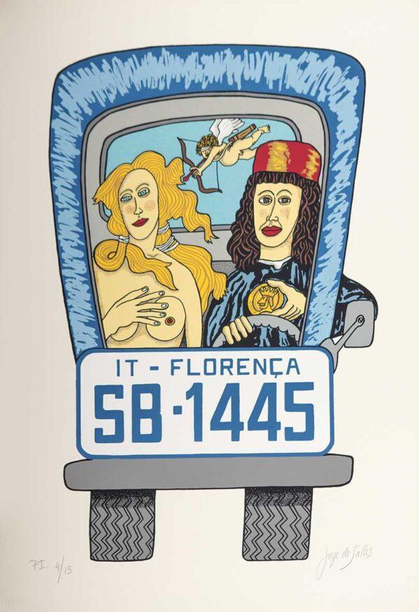 206 - Jorge Salles - Serigrafia - 50x70cm - ano 1985 - Tiragem 100 (13)