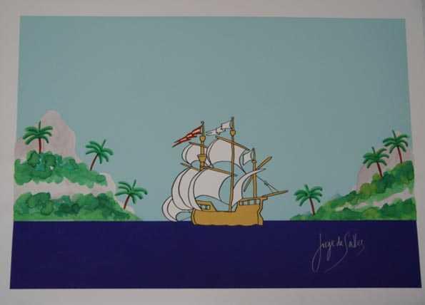 213 - Jorge de Salles - 48x66cm - Serigrafia