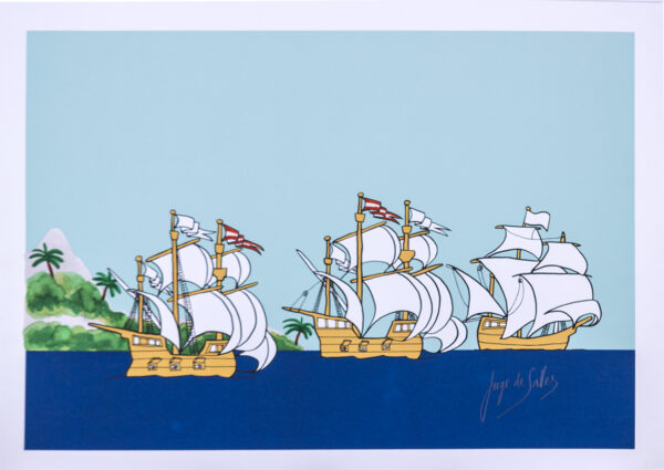214 - Jorge Salles - 48x66cm - Serigrafia - Tiragem 10