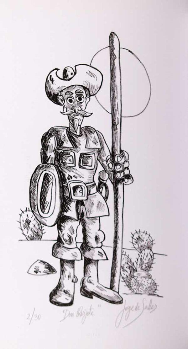 216 - Jorge Salles - 44x66cm - Litografia - Tiragem 20 (2)