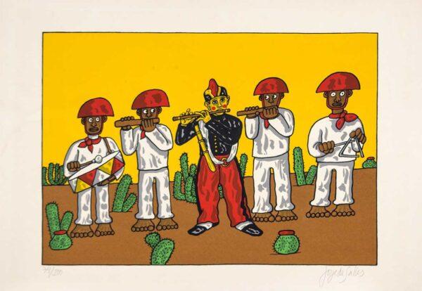 218 - Jorge Salles - 50x70cm - Serigrafia
