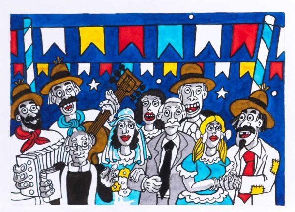 222 - Jorge Salles - 50x70 - Serigrafia