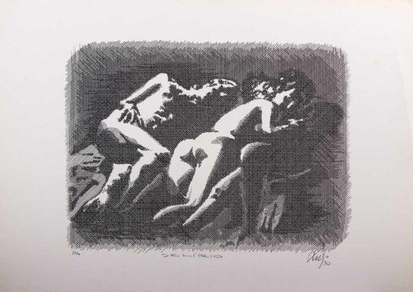 251 - Luvi - Delirio - 50x70cm - Serigrafia - Tiragem 100