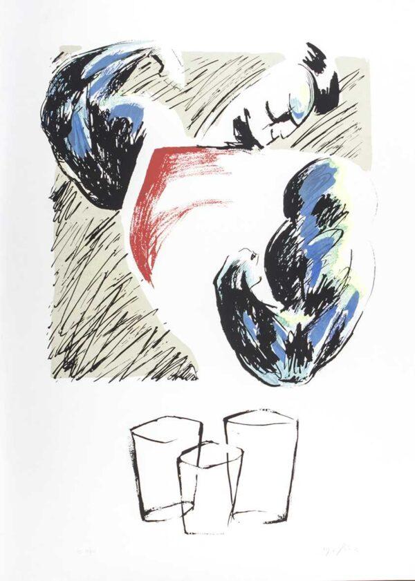 291 - molica - 50x70cm - Homenagem ao bar - Serigrafia - tiragem 100