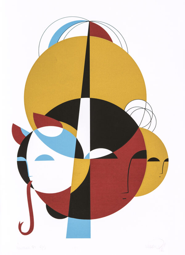 299 - Marcio Piá - 48x66cm - Serigrafia - Ano 2014 - Titagem 20
