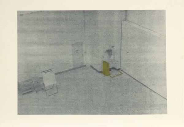 300 - Rafael Carneiro - 48x66cm - Litografia e Serigrafia - Ano 2007 - Tiragem 30