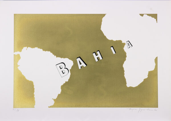 301 - Rafic Farah - 50x70cm - Serigrafia