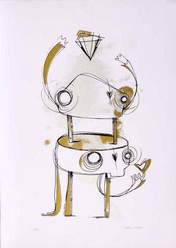 303 - Rafo Castro - 48x66cm - Serigrafia - Ano 2014 - Tiragem 20 (2)