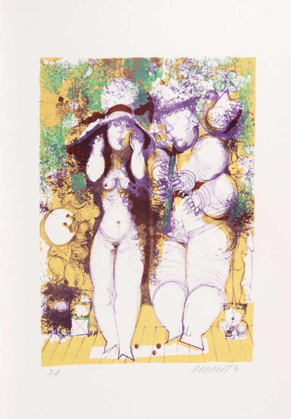 306 - Rapoprt - 48x66cm - Litografia e Serigrafia - Ano 1986 - Tiragem 100 (1)