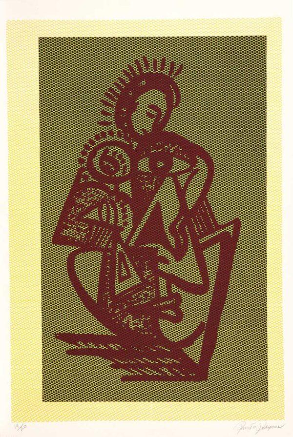 313 - Renato Rodyner - 50x70cm - Litografia e Serigrafia - Ano 2009 (2)