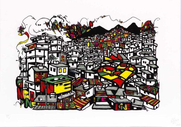 334 - Marcelo Ment - 30x40cm - Serigrafia (3)