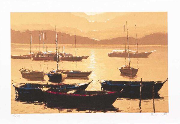 351 - Romanelli - 35x50cm - Serigrafia - tiragem 50 (2)