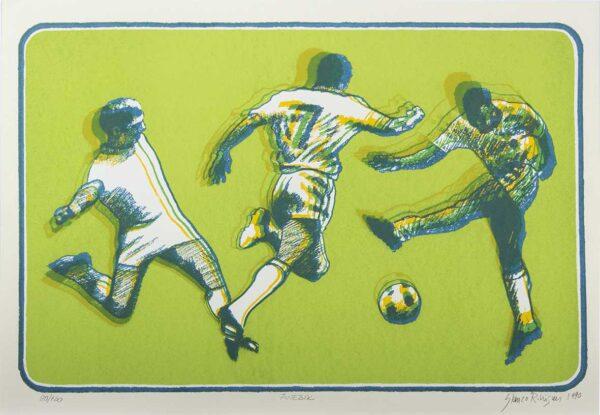 449 - Glauco Rodrigues - 44x64cm - Serigrafia - Tiragem 120 (1)