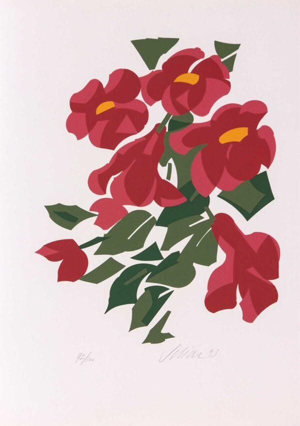 484 - Carlos Scliar - 50x35cm - Serigrafia - Ano 1993 - Tiragem 100 (2)