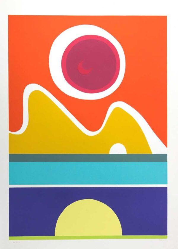 504 - Aloísio Carvão - 50x70cm - Serigrafia