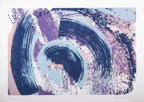 558 - Claudio Kupermen - 50x70cm - Serigrafia (3)