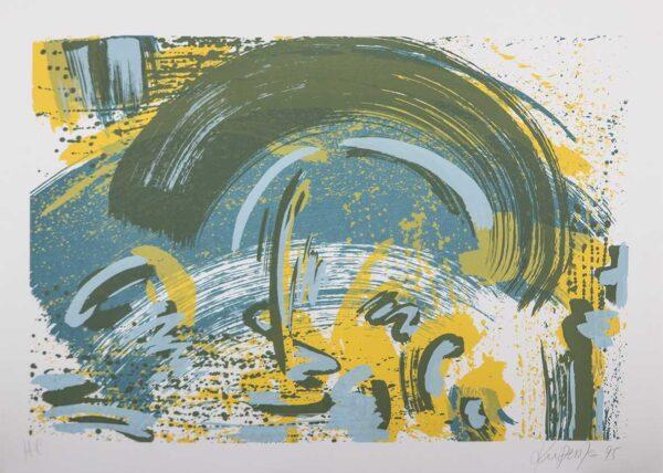 561 - Claudio Kupermen - 50x70cm - Serigrafia (1)