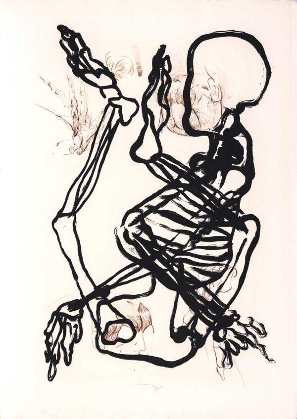 562 - Claudio Mubarac - 50x70 - Litografia - ano 2007 - Tiragem 30