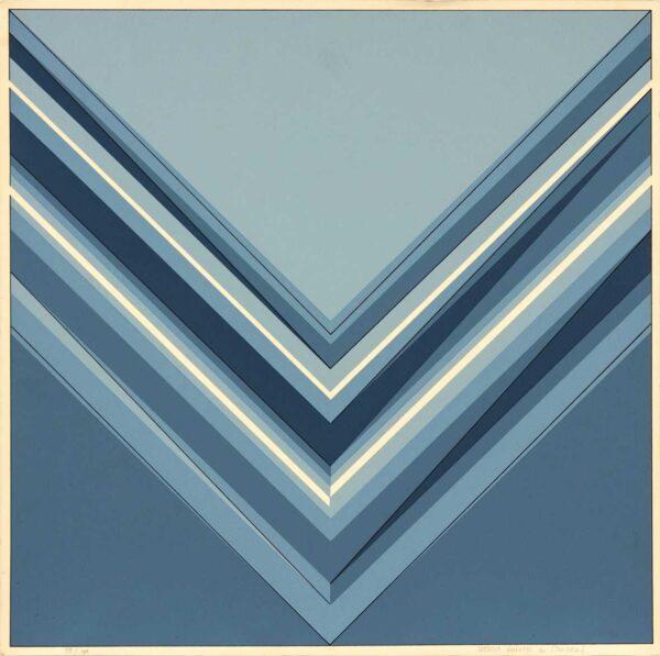 573 - Marcia Barroso do Amaral - 50x40cm - Serigrafia - Tiragem 100
