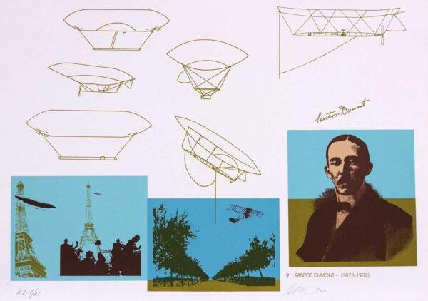 cortada 067 - Carlos Scliar - 50x70cm - Redescobertas do Brasil - Serigrafia - Ano 2000 - Tiragem 150 (9)