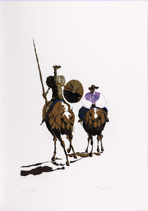 349 - Romanelli - 50x70cm - Serigrafia - tiragem 100 (2)