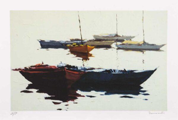 352 - Romanelli - 35x50cm - Serigrafia - tiragem 50