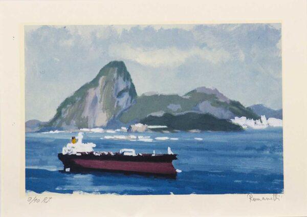353 - Romanelli - 35x50cm - Serigrafia