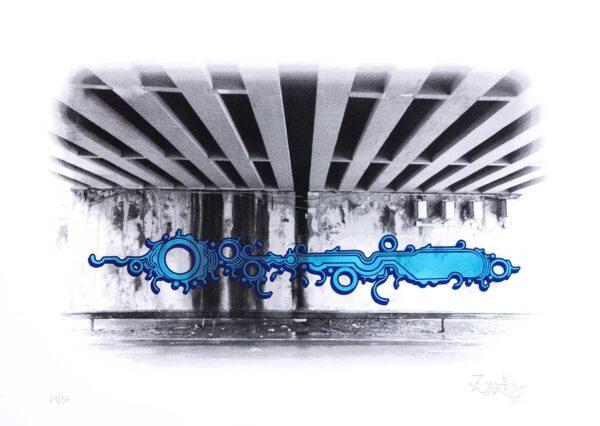 427 - zezão serigrafia - 50x70cm - 50 exemplares ano 2016 1