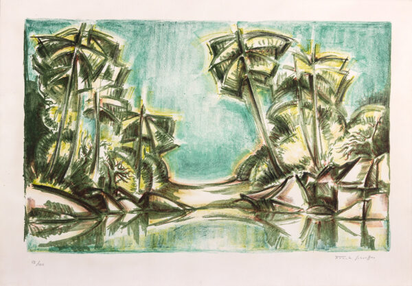 176 - Frank Shaeffer - 48x66cm - Serigrafia - Tiragem 100 (2)
