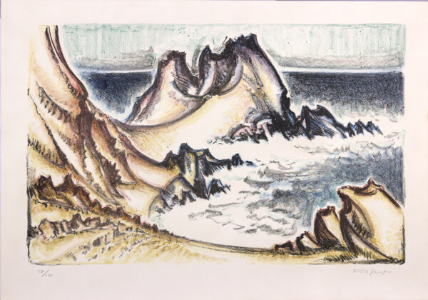 177 - Frank Shaeffer - 48x66cm - Serigrafia - Tiragem 100 (1)