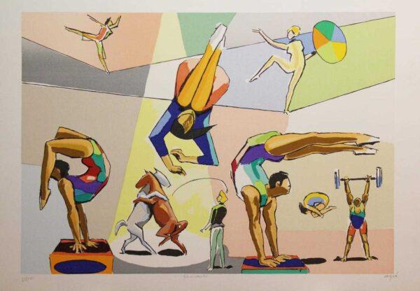 Carybé - Serigrafia - 100x70 - Tiragem 180