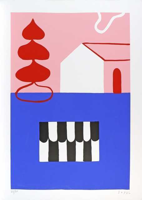 709 - Bokel - Serigrafia - 50x70cm - 2021 (1)
