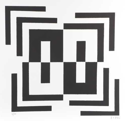 710 - Bokel - Serigrafia - 50x50cm - 2021 (2)